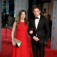 Eddie Redmayne at the 2016 BAFTA Awards' red carpet