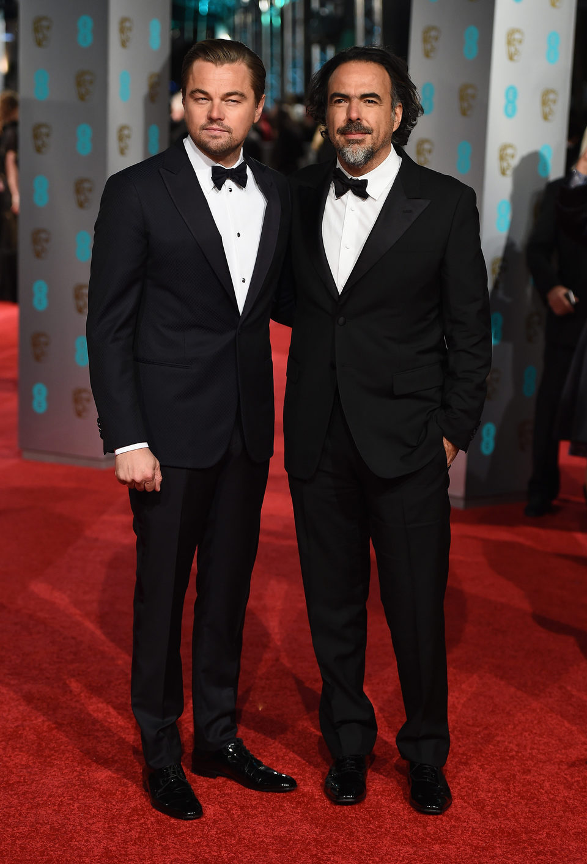 ¿Cuánto mide Leonardo DiCaprio? - Real height 65785_leonardo-dicaprio-alejandro-g-inarritu-alfombra-roja-bafta-awards-2016