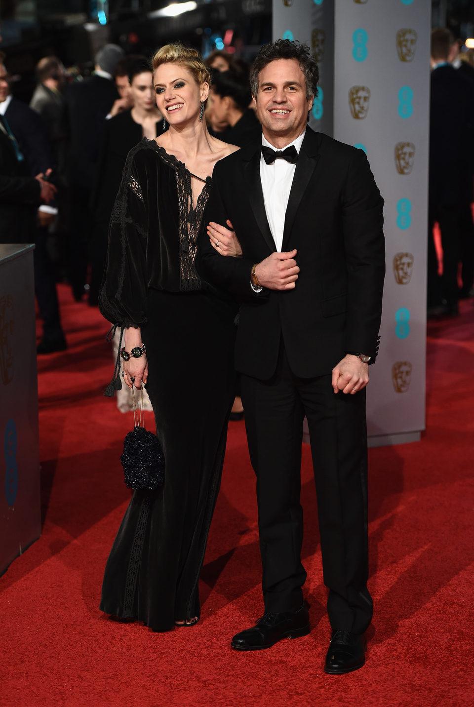 Mark Ruffalo en la alfombra roja de los BAFTA Awards 2016