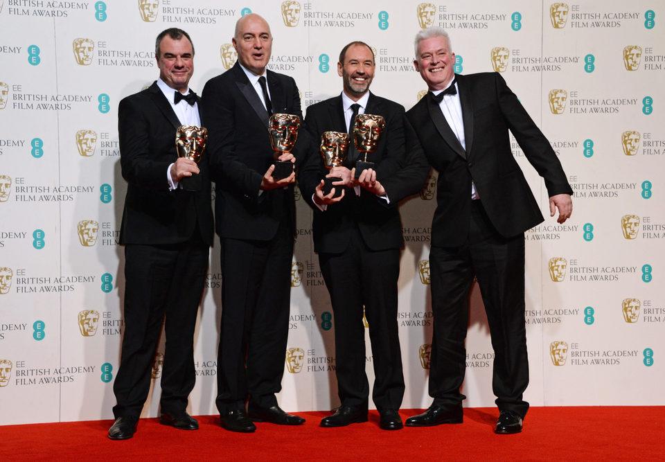 'Star Wars: El despertar de la fuerza', BAFTA a Mejores Efectos Visuales 2016