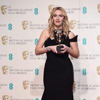 Kate Winslet, ganadora del BAFTA a Mejor Actriz de reparto