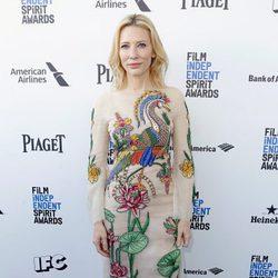 Cate Blanchett en la alfombra roja de los Independent Spirit Awards 2016