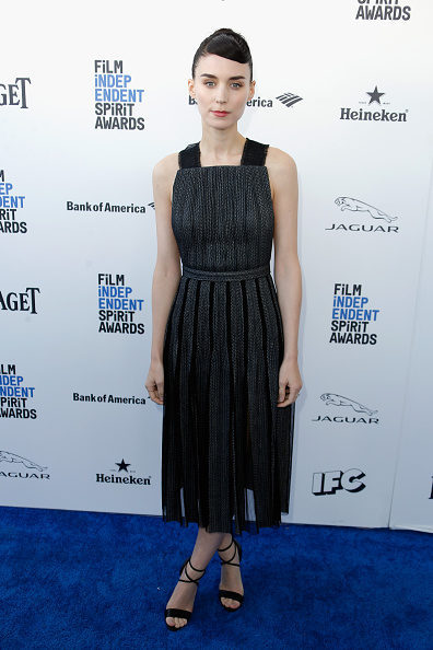 Rooney Mara en la alfombra roja de los Independent Spirit Awards 2016