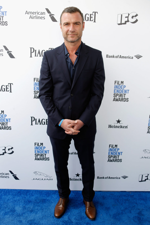 Liev Schreiber en la alfombra roja de los Independent Spirit Awards 2016