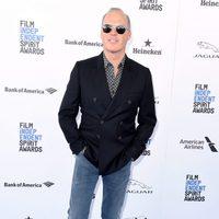 Michael Keaton en la alfombra roja de los Independent Spirit Awards 2016