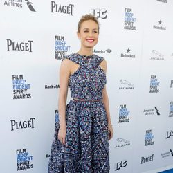 Brie Larson en la alfombra roja de los Independent Spirit Awards 2016