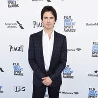 Ian Somerhalder en la alfombra roja de los Independent Spirit Awards 2016