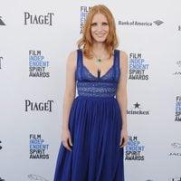 Jessica Chastain en la alfombra roja de los Independent Spirit Awards 2016