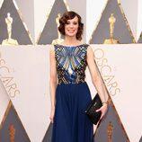 Chloe Pirrie en la alfombra roja de los Oscar 2016