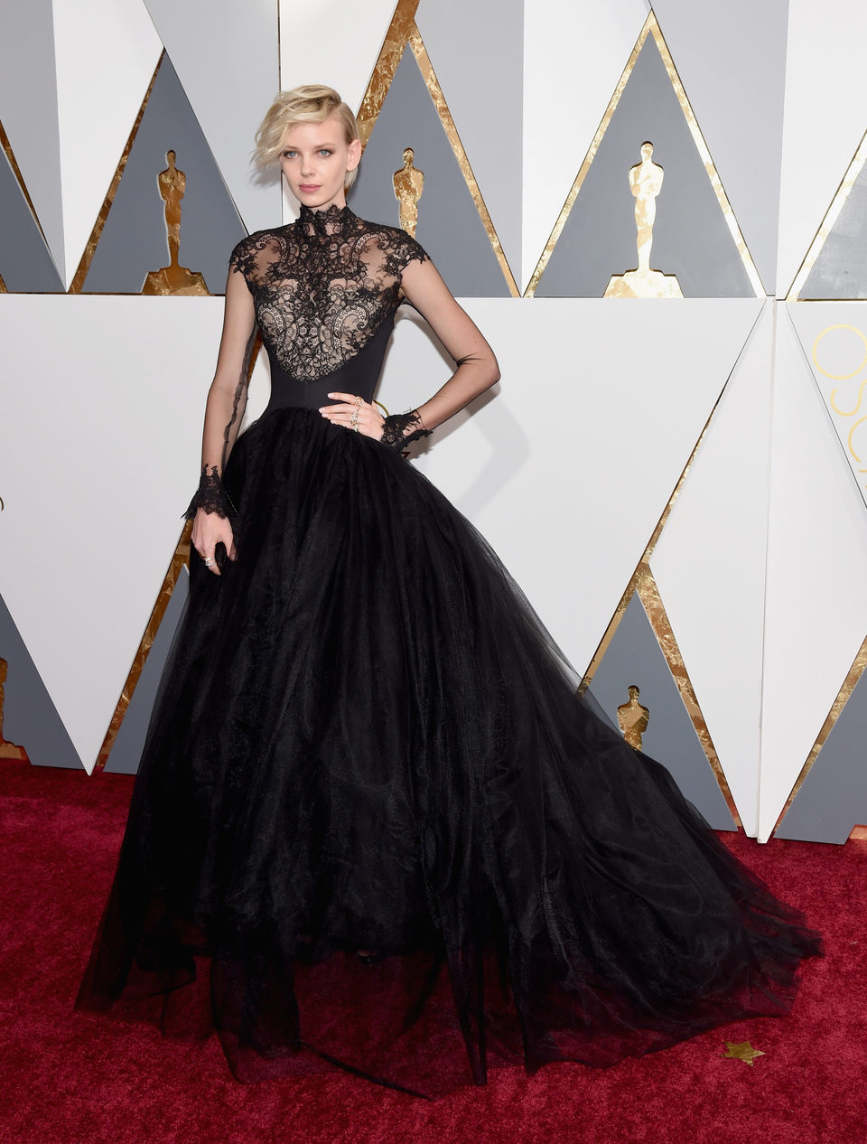 Dorith Mous en la alfombra roja de los Oscar 2016