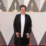 Phyllis Nagy en la alfombra roja de los Oscar 2016