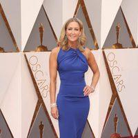 Lara Spencer en la alfombra roja de los Oscar 2016