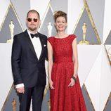 Eva von Bahr y Love Larson en la alfombra roja de los Oscar 2016