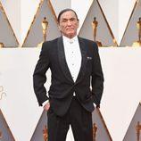 Duane Howard en la alfombra roja de los Oscar 2016