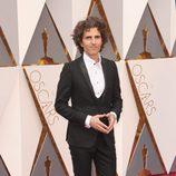 Stephan Moccio en la alfombra roja de los Oscar 2016
