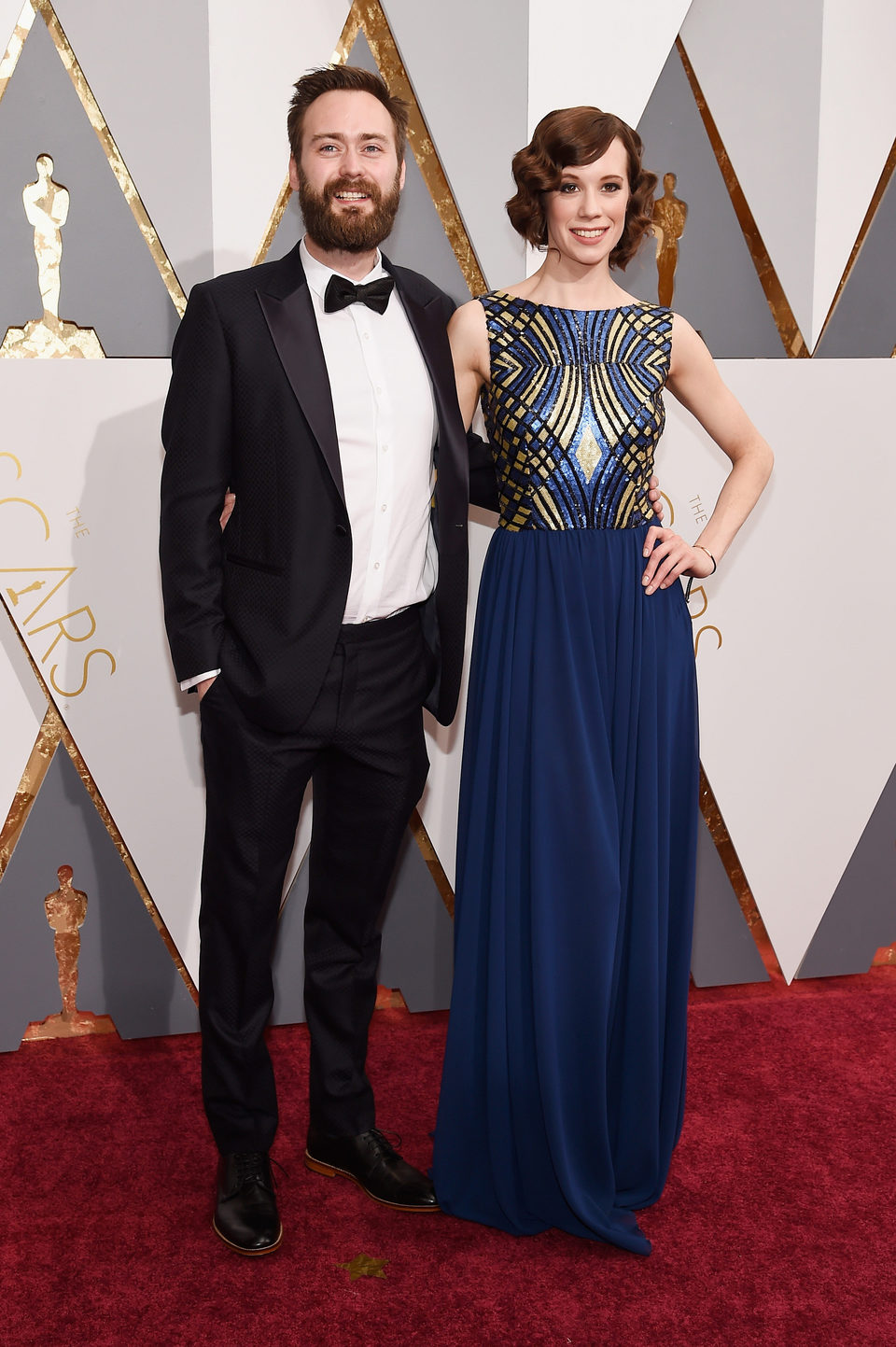 Benjamin Cleary en la alfombra roja de los Oscar 2016