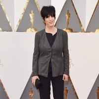 Diane Warren en la alfombra roja de los Oscar 2016
