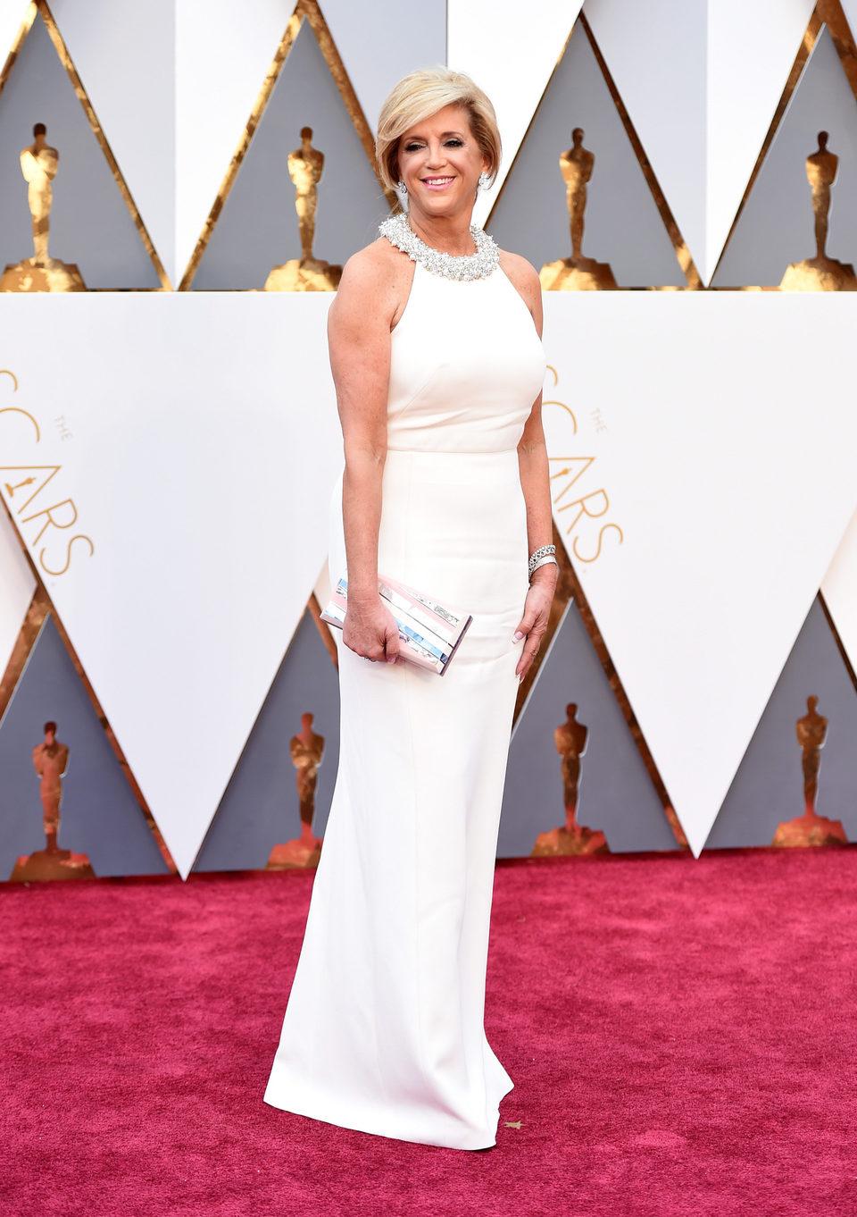 Joy Mangano en la alfombra roja de los Oscar 2016