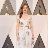 Isla Fisher en la alfombra roja de los Oscar 2016