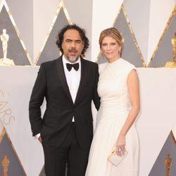 Alejandro G. Iñárritu en la alfombra roja de los Oscar 2016