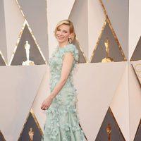 Cate Blanchett en la alfombra roja de los Oscar 2016