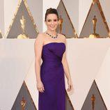 Tina Fey en la alfombra roja de los Oscar 2016