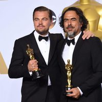 Leonardo DiCaprio y Alejandro González Iñárritu Oscars 2016