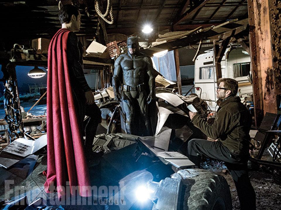 Batman y Superman cara a cara