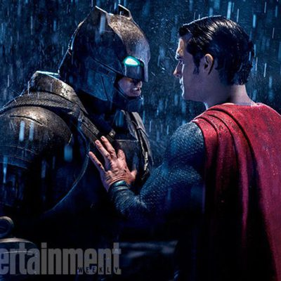 Batman V Superman enfrentados