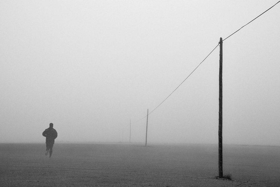 La soledad del corredor de fondo, fotograma 3 de 3