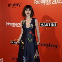 Nerea Barros en la alfombra roja de los Fotogramas de Plata 2015