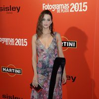 Macarena Gómez en la alfombra roja de los Fotogramas de Plata 2015