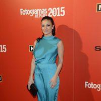 Elisa Mouliáa en la alfombra roja de los Fotogramas de Plata 2015