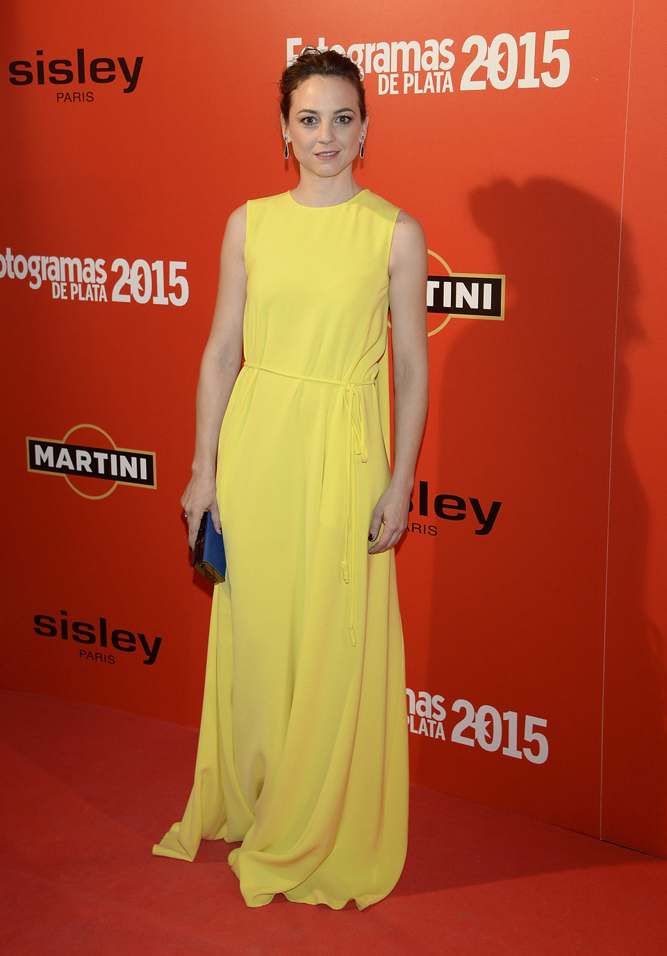 Leonor Watling en la alfombra roja de los Fotogramas de Plata 2015