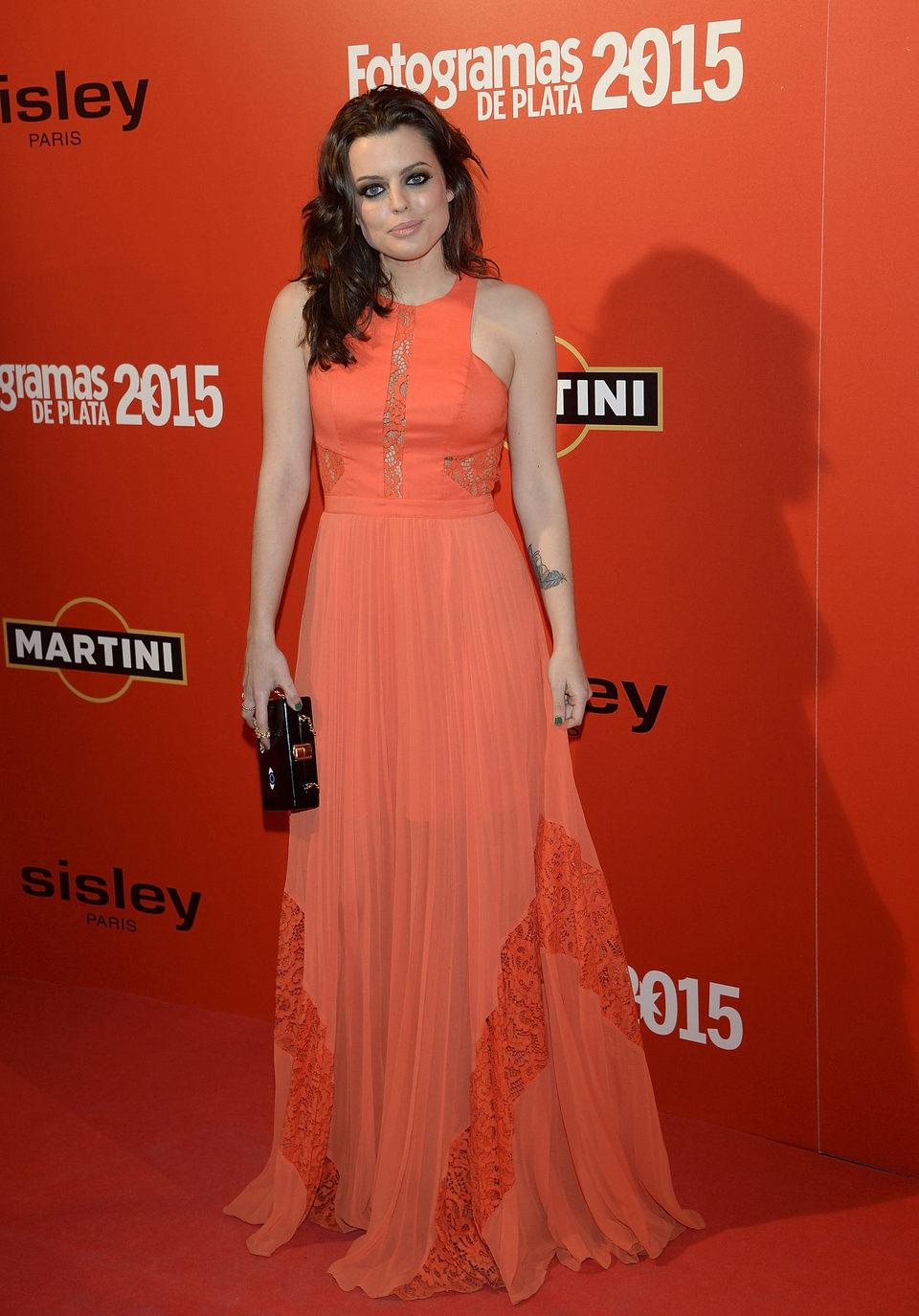 Adriana Torrebejano en la alfombra roja de los Fotogramas de Plata 2015
