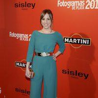Celia de Molina en la alfombra roja de los Fotogramas de Plata 2015