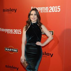 Celia Freijeiro en la alfombra roja de los Fotogramas de Plata 2015