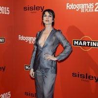 Najwa Nimri en la alfombra roja de los Fotogramas de Plata 2015