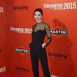 Irene Visedo en la alfombra roja de los Fotogramas de Plata 2015