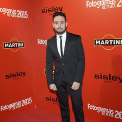 Juan Antonio Bayona en la alfombra roja de los Fotogramas de Plata 2015