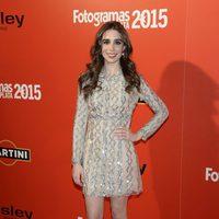 Candela Serrat en la alfombra roja de los Fotogramas de Plata 2015