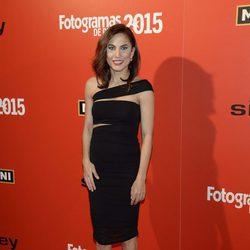 Toni Acosta en la alfombra roja de los Fotogramas de Plata 2015