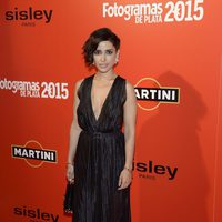 Inma Cuesta en la alfombra roja de los Fotogramas de Plata 2015