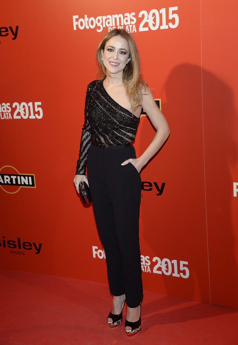 Silvia Abascal en la alfombra roja de los Fotogramas de Plata 2015