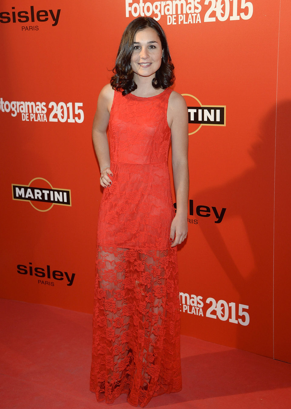 Nadia de Santiago en la alfombra roja de los Fotogramas de Plata 2015