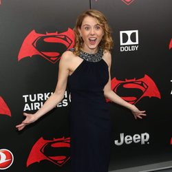 Laura Wiggins en la premiere de 'Batman v Superman' en Nueva York