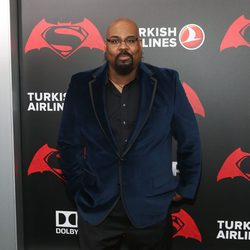 El actor James Monroe Iglehart en la premiere de 'Batman v Superman' en Nueva York