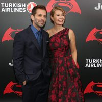 Zack Snyder and his wife at 'Batman v Superman' Premiere in New York