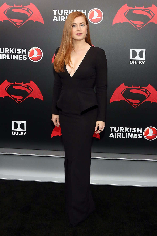 Amy Adams en la premiere de 'Batman v Superman' en Nueva York