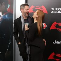 Darren Le Gallo and Amy Adams together at 'Batman v Superman' Premiere in New York